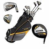 Wilson Ultra Herren Komplettes Golfschläger Set & Ständer Tasche Schläger
