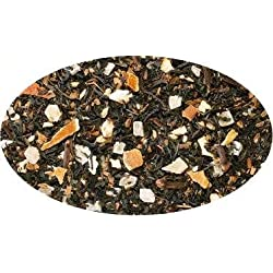 Schwarzteemischung Fruit Chai, Orangen-Creme-Note aromatisiert - 500g