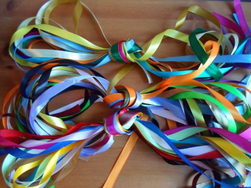 Mixed Bundle 10 x 1m x 3mm 6mm 12mm Satin Ribbon Assorted sizes & colours 10 metres Wedding Favours Decorative Easter Christmas