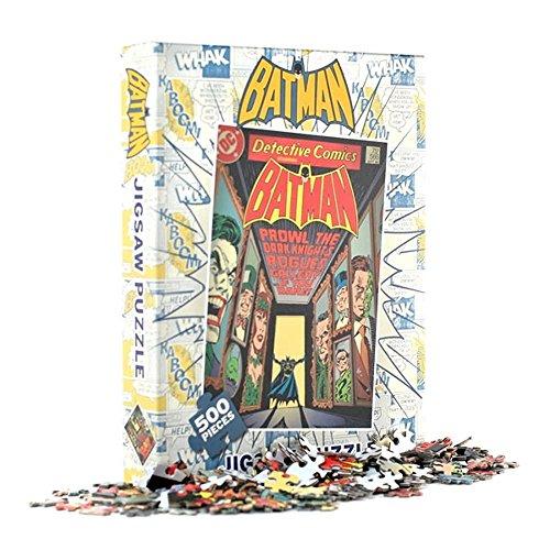 500 piezas. 500 mm x 350 mm. rompecabezas de alta calidad Batman. Con licencia oficial de DC comics. Gran idea para un regalo.