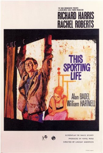 Sporting Life Richard Harris (This Sporting Life Plakat Movie Poster (27 x 40 Inches - 69cm x 102cm) (1963))