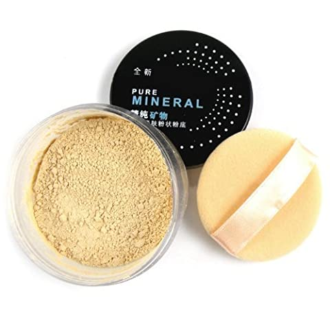 BF Pro Makeup Mineral Foundation Perfect Sheer Finish Bare Face Affection Glow Loose Powder #03 Pale Natural CODE: