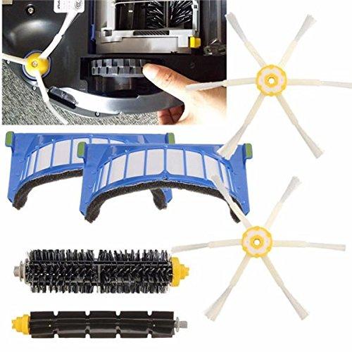Preisvergleich Produktbild Ils - 6 Stücke Ersatzvakuum Teil für iRobot Roomba 600 Serie 620 630 650