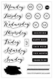 Die besten Prime Tage - Prima Marketing PTJ Bullet Journaling stamps-these Tagen Bewertungen