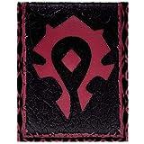 Cartera de Blizzard World of Warcraft Por la horda Rojo