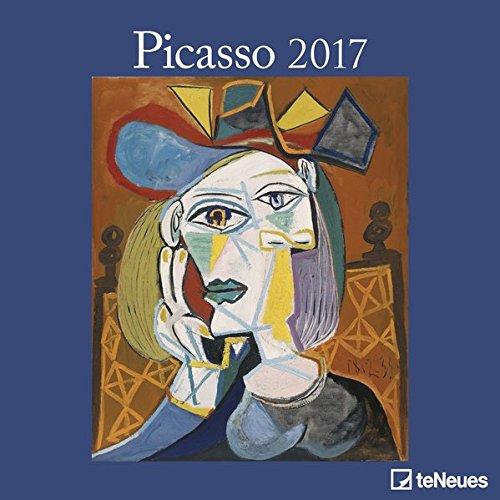 2017 Picasso Calendar - teNeues Grid Calendar - Art Calendar - 30 x 30cm por Pablo Picasso