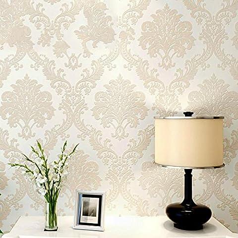 Papel pintado Medio ambiente papel pintado no tejido dormitorio papel pintado mano tallada salón TV fondo muro de pantalla