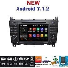 ANDROID 7.1 GPS DVD USB SD WI-FI BT autoradio 2 DIN navigatore Mercedes classe C W203/ C220/ C230/ C240/ C280/ classe CLK W209/ CLK200/ CLK220/ CLK 240/ Mercedes classe CLC W203/ W467/ A209/ W219