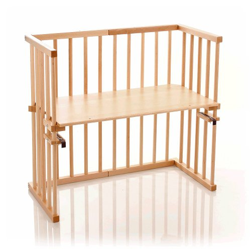 Preisvergleich Produktbild babybay Maxi Beistellbett, weiß lackiert - nicht USA zertifiziert/nicht USA zertifiziert