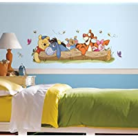 RoomMates RMK2553GM - Pegatinas de pared, diseño Pooh y Amigos al Aire Libre