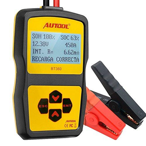 Autool-BT360-12-V-battery-System-tester-analizzatore-di-stato-della-batteria-CCA-100--1400-a-freddo-per-regular-Allagato-AGM-piatta-o-AGM-spirale-e-batteria-a-gel-con-manovella-e-ricarica-sistema-diag
