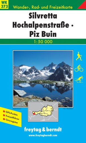 Price comparison product image Hiking Maps of the Austrian Alps: Silvretta Hochalpenstrasse,  Piz Buin (Walking Maps)