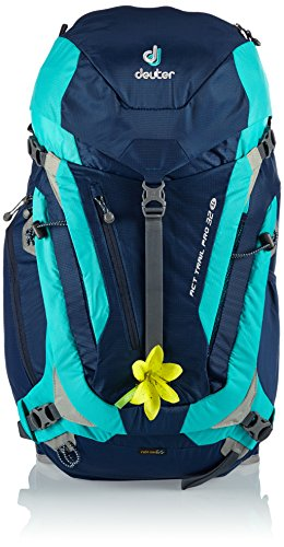 #Deuter Damen Wanderrucksack ACT Trail PRO 32 SL, Midnight-Mint, 62 x 28 x 24 cm, 32 Liter, 344101532180#