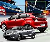 #8: Auto Concept - Premium Quality Car Chrome Finishing Lower Spoiler For - Maruti Suzuki Baleno 2015