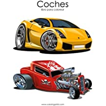 Coches libro para colorear 1: Volume 1