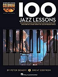 100 Jazz Lessons: Keyboard Lesson Goldmine Series Book/2-CD Pack by Brent Edstrom (2014-05-01)