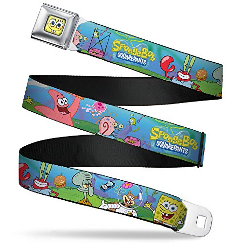 Buckle Down Seatbelt Spongebob Squarepants Kids Belt