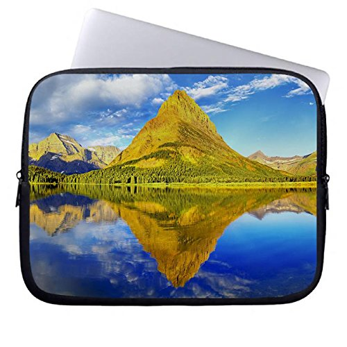 hugpillows-funda-para-porttil-bolsa-de-funda-para-porttil-glacier-national-park-panorama-casos-con-c