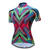 Weimostar MTB Vélo Jersey Femmes Vêtements de Cyclisme Pro Vêtements À Manches Courtes Vélo T-Shirts Top Filles Porter Coloré rose Vestes Taille XL
