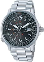 Reloj Citizen Pilot 24h Bj7010-59e Hombre Negro de Citizen
