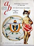 ANTIQUITES BEAUX ARTS CURIOSITES [No 252] du 01/04/1986 - peintures lyonnaises au theatre - les chats par bezombes - faiences de roanne