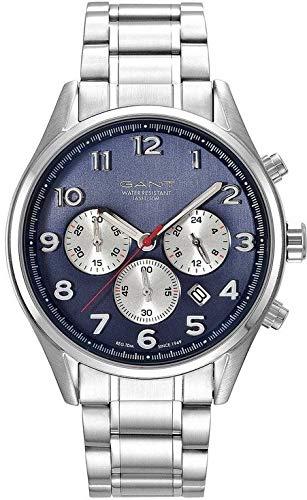 Montre-bracelet GANT TIME GT008002 - Pour femme - Mouvement quartz - Affichage analogique - En acier inoxydable