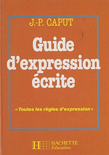 Guide d'expression écrite