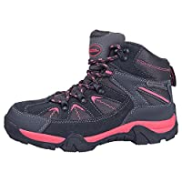 Mountain Warehouse Rapid Kids Boots - Waterproof Rain Boots, Durable Outsole Childrens Shoes, Mesh Upper Hiking Boots, Ankle Padding Boots - for Walking, Travelling