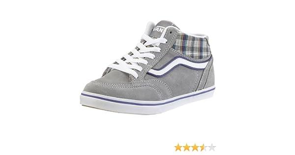 Vans COPELY MID VHJT3DK, Damen Sneaker, grau, (plaid Grey