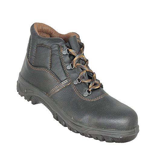 Segurança Grupo Trabalho De Calçado De Calçado Baustiefel S1p Alto De Jal Preto wFrqFXf