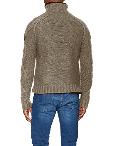 Replay Herren Pullover Grau (Grey Med Melange M04)