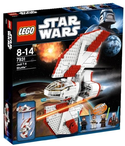 (LEGO Star Wars 7931 - T-6 Jedi Shuttle)