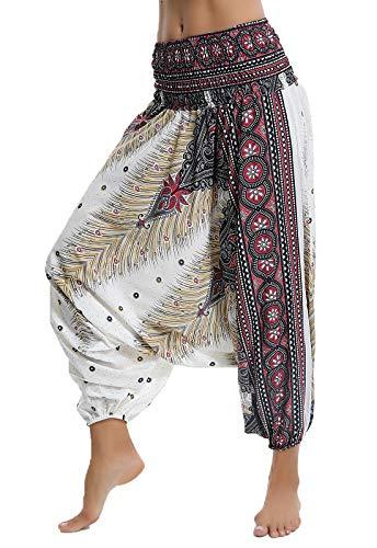 taglia 40 90ef8 47430 SEASUM pantaloni alla turca con cavallo a goccia yoga donna ...