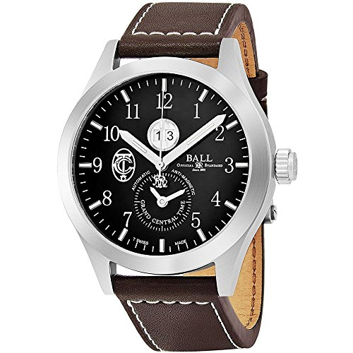BALL ENGINEER MASTER II GCT HOMME 44MM CUIR AUTOMATIQUE MONTRE GM2086C-L2-BK
