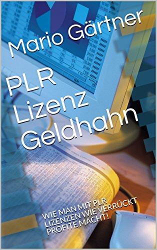 PLR Lizenz Geldhahn : WIE MAN MIT PLR LIZENZEN WIE VERRÜCKT ...