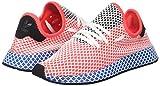 adidas Herren Deerupt Runner Gymnastikschuhe, Rot solar Red/Bluebird, 40 2/3 EU - 5