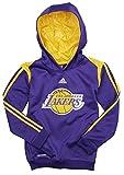 adidas Los Angeles Lakers NBA Big Jungen auf Court Hoodie–Violett, Mädchen Kinder Damen Jungen, violett