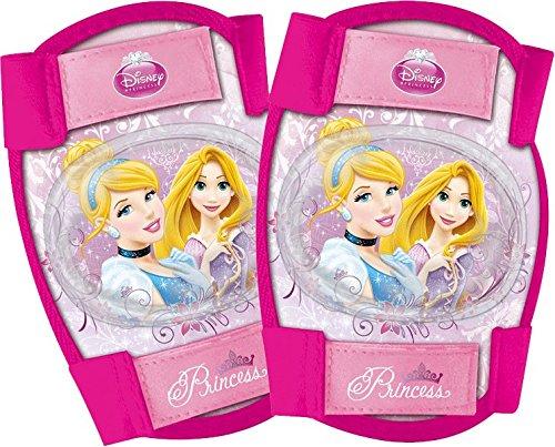 Disney Mädchen Princess Knie und Ellenbogenschoner Set 4-Teilig, Rosa, M, 35405