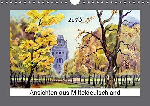 Ansichten aus Mitteldeutschland (Wandkalender 2018 DIN A4 quer): Aquarelle von Burkhard Posanski (Monatskalender, 14 Seiten ) (CALVENDO Kunst) [Kalender] [Apr 11, 2017] Posanski, Burkhard