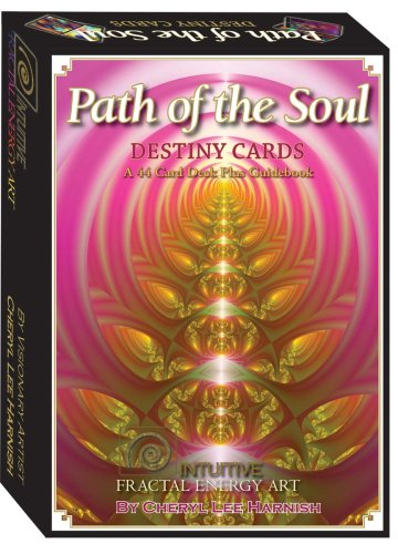 Path of the Soul Destiny Cards: Intuitive Fractal Enery Art