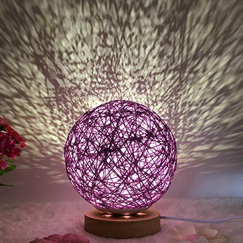 Mesita Noche proyector Estrella romántica luz Noche