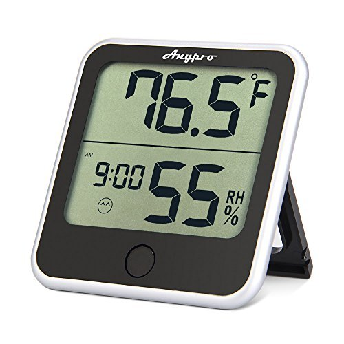 Humidity Monitor - Anypro Hygrometer Thermometer 2-in-1 with Temperature Gauge