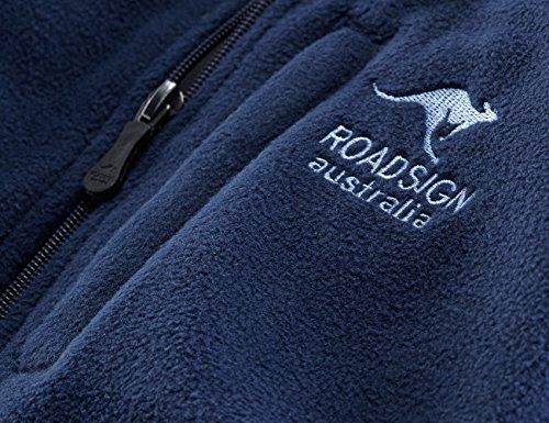 "ROADSIGN australia Micro-Fleece Jacke ""Outback Conqueror"" Marine"