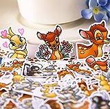 ZJJHX Kreative süße selbstgemachte süße Hirsch Sticker/Scrapbooking Sticker/Deko Sticker/DIY...
