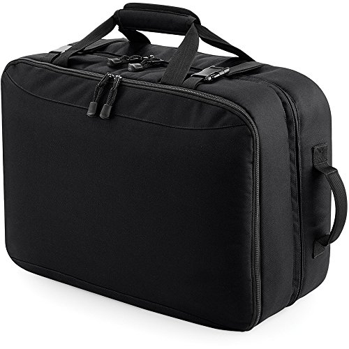 Bagbase Unisex Escape Ultimate Cabin Carryall Bag Black