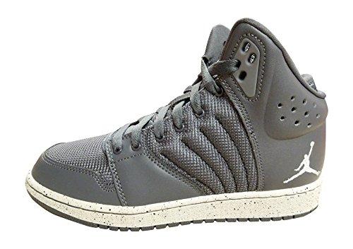 Jordan 5y Schuhe (Nike Jordan 1 flight 4 Premium BG grau EUR 37,5 UK 4,5)