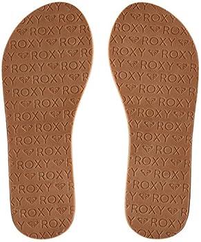 Roxy Women's Jyll Flip Flops, Brown (Tan Tan), 7 Uk 3