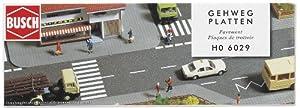 Busch - Carretera para modelismo ferroviario (21x49x2 cm)