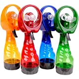 Samplus mall Portable mini Water Spray Fan (Multi-Color)