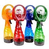 #9: Samplus mall Portable mini Water Spray Fan (Multi-Color)